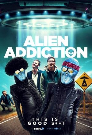 Alien Addiction Poster Large