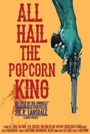 all hail the popcorn king poster large