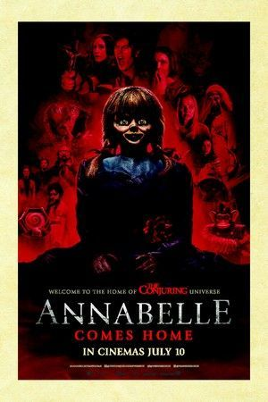 annabelle comes home poster large
