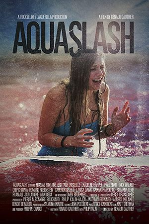 Aquaslash Poster Large