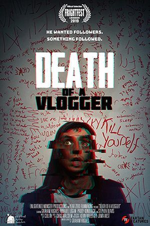 Death Of A Vlogger Poster Large