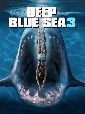 Deep Blue Sea 3 Poster Large