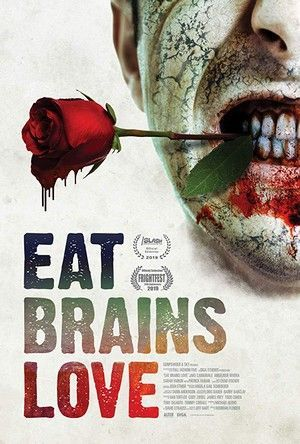 Eat Brains Love Poster Large