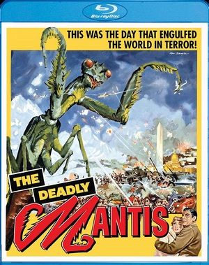 The Deadly Mantis Blu Ray Large