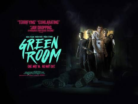 green room quad poster