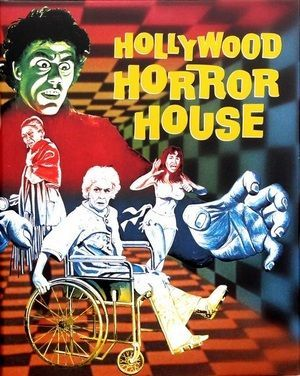Hollywood Horror House Poster Large
