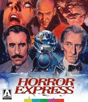 Horror Express Blu Ray Poster