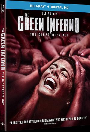The Green Inferno Blu Ray Large