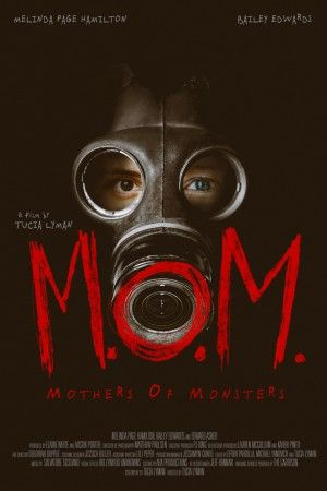 Mom Mothers Of Monsters Poster Large
