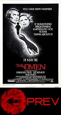 the omen poster poster