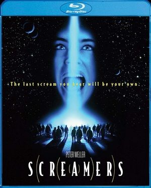 Screamers Blu Ray Poster