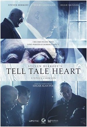 Steven Berkoffs Tell Tale Heart Cover Large