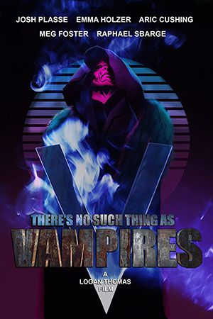 Theres No Such Thing As Vampires Poster Large