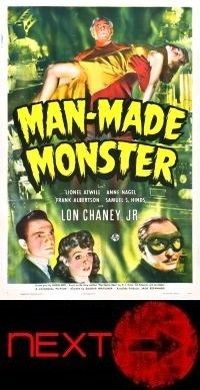 man mad monster poster small next
