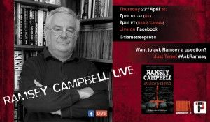 Ramsey Campbell Live Poster Large