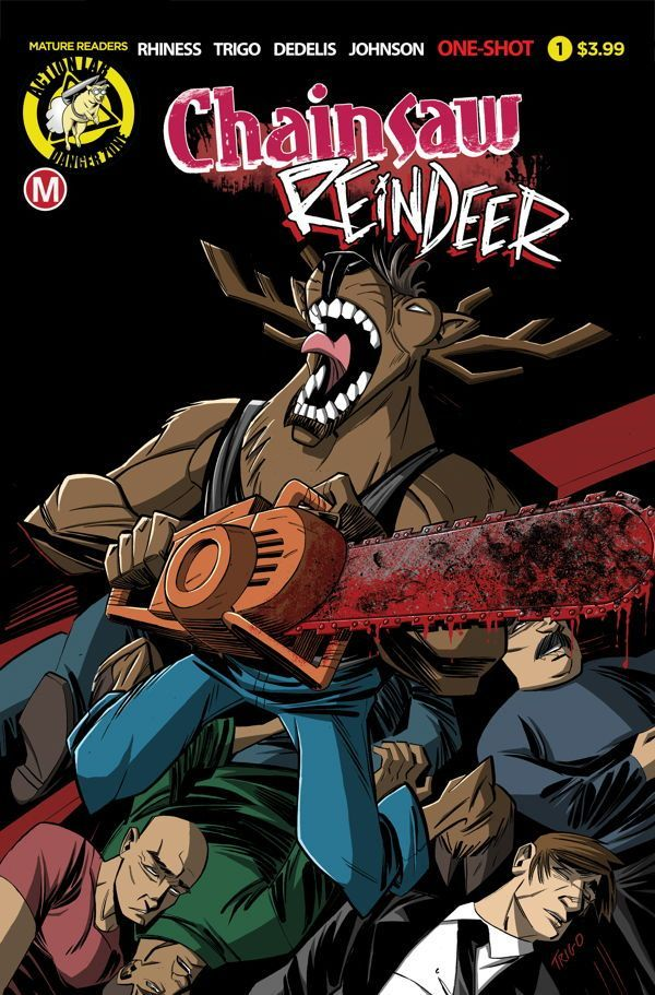 Chainsaw Reindeer 00