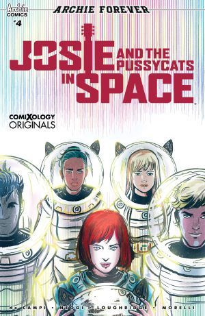 Josie and the Pussycats in Space #4 Exclusive Preview