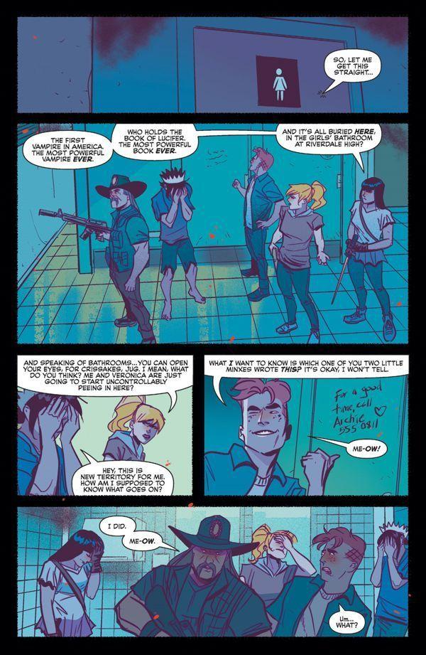 Jughead Hunger Vs Vampironica 5 05