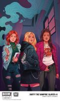 Buffy 1 Cover