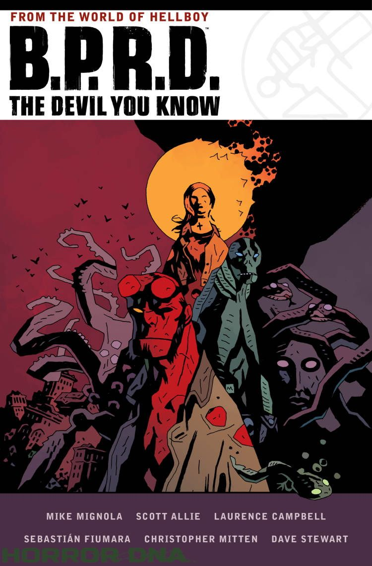 EXCLUSIVE: B.P.R.D.: The Devil You Know Omnibus Cover Revealed