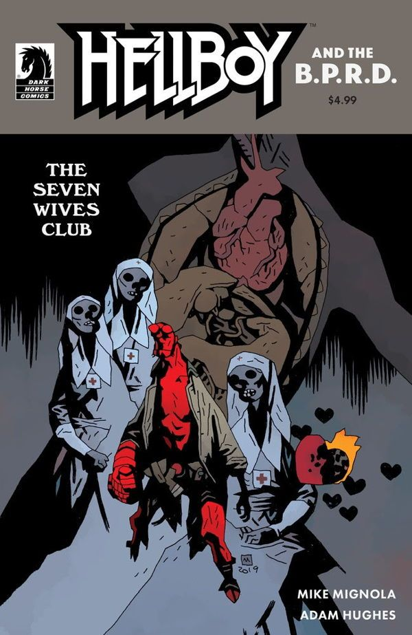 Hellboy Bprd Seven Wives 00