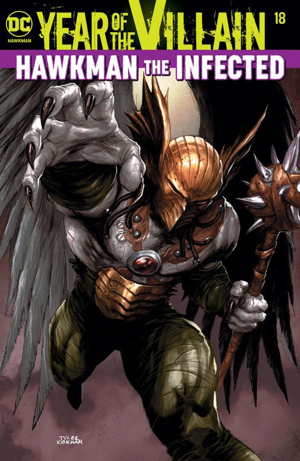 Infected Hawkman