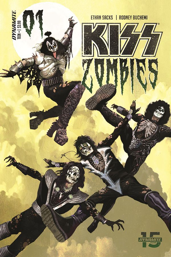 Kiss Zombies 00