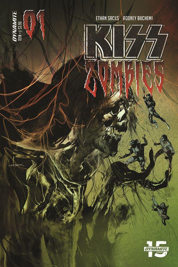 Kiss Zombies 01