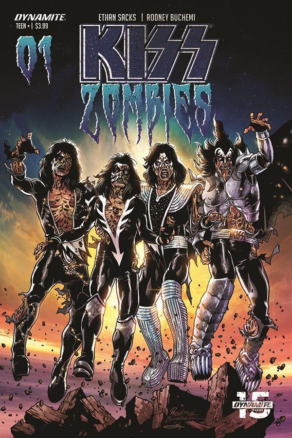 Kiss Zombies 02