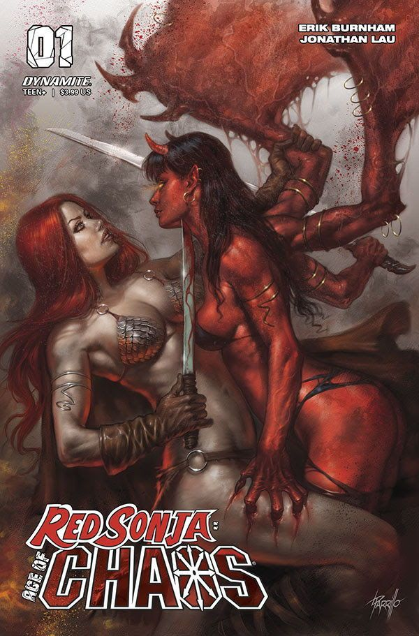 Red Sonja Chaos 00