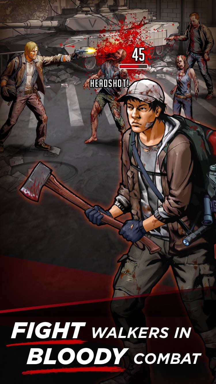 The Walking Dead Road To Survival 01