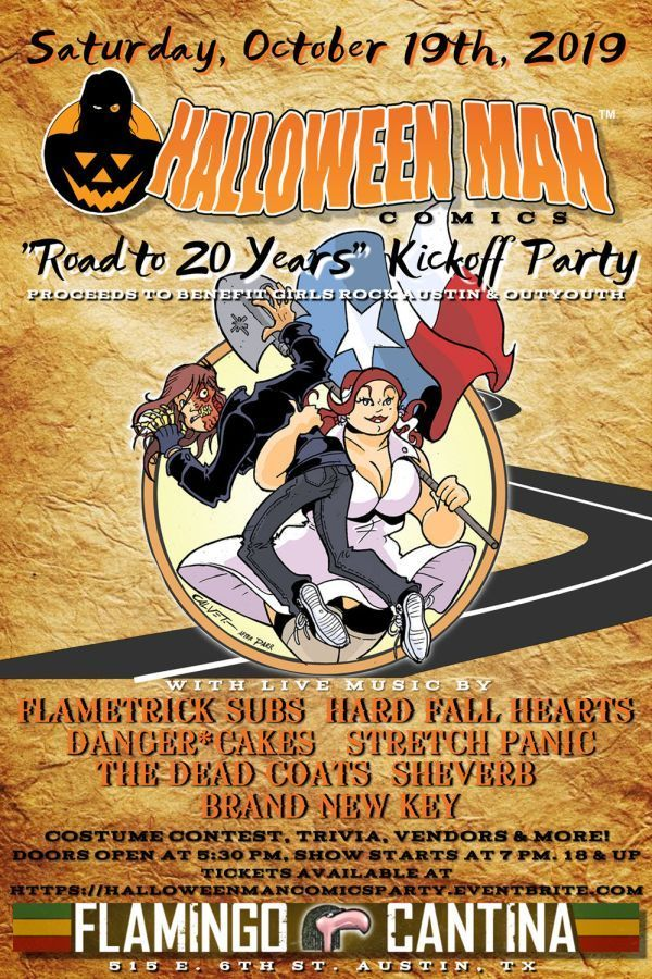 Halloween Man Party