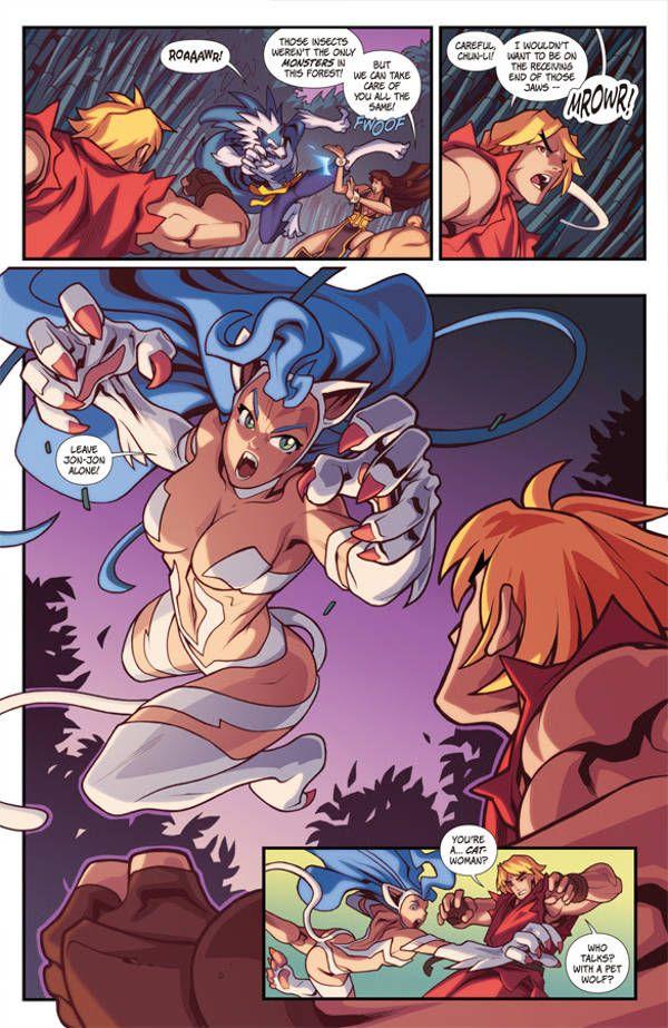 Street Fighter Vs Darkstalkers 02