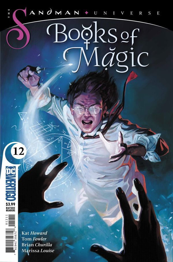 Books Of Magic 12 00