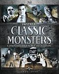 Universal Classic Monsters 30 Film Blu Ray Cover