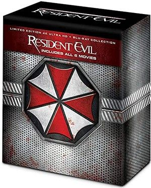 Resident Evil 4k Ultra Collection Set Large