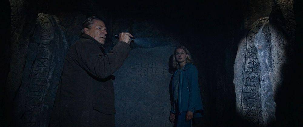 Henrik and Christine - Per Frisch and Iben Akerlie - Discovering runestones.