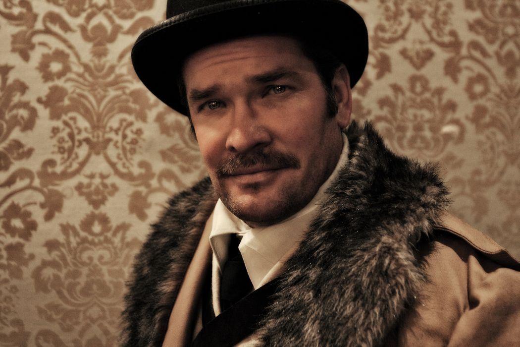 Matt Stephen Tompkins as Theodore Roosevelt