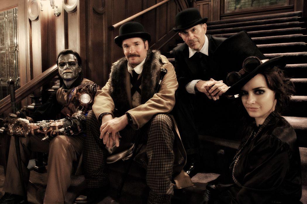 Poe, Roosevelt, Wayne and Emma