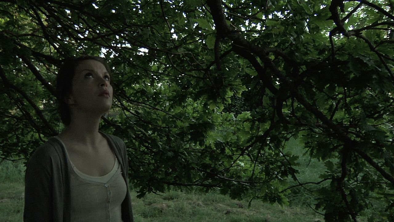 """Emily Plumtree in """"Hollow"""" distributed by Tribeca Film. Photo Credit: Mark James."""