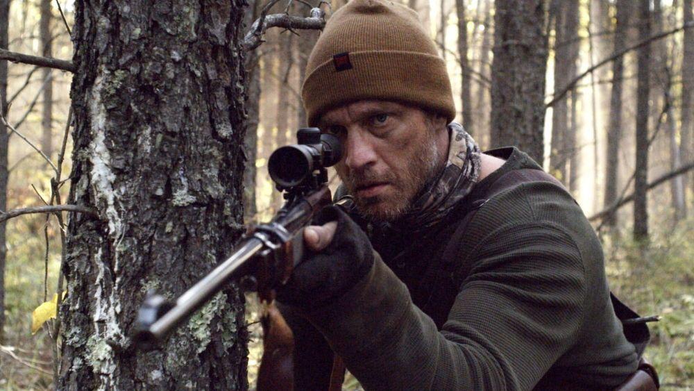 Devon Sawa as Mersault in the thriller / horror / suspense film HUNTER HUNTER, an IFC