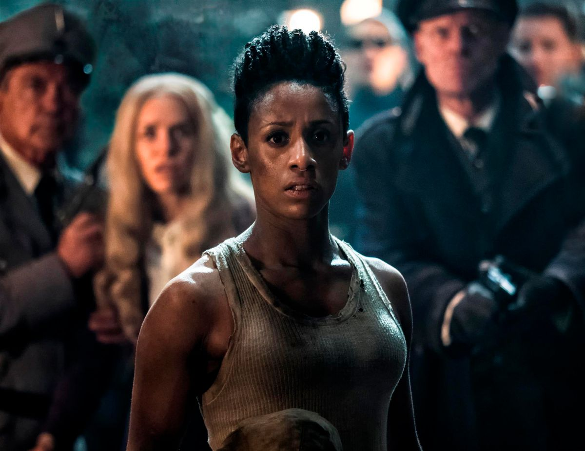 """Lara Rossi as Obi in the sci-fi comedy """"IRON SKY: THE COMING RACE"""". Photo courtesy of Vertical Entertainment."""