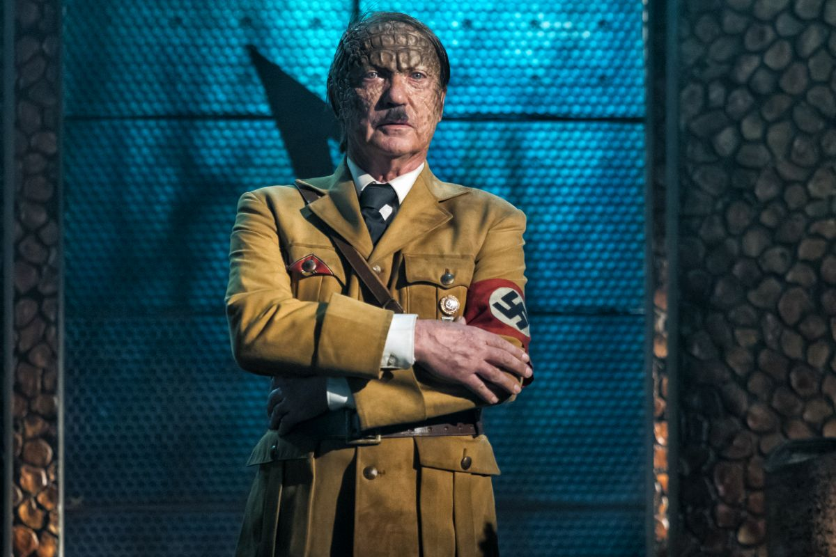 """Udo Kier as Wolfgang Kortzfleisch in the sci-fi comedy """"IRON SKY: THE COMING RACE"""". Photo courtesy of Vertical Entertainment."""