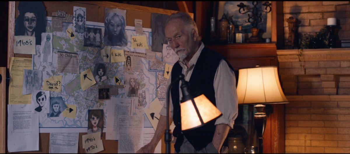 Tobin Bell as Frederick Munch in the Sci-Fi / Thriller film, LET US IN, a Samuel Goldwyn Films release. Photo courtesy of Samuel Goldwyn Films.