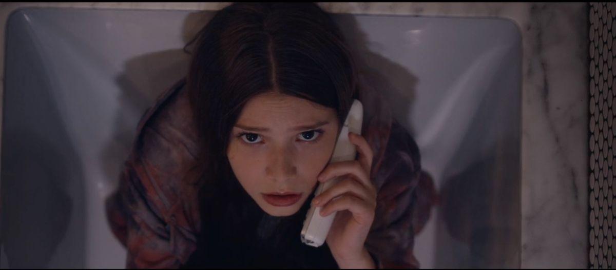 Makenzie Moss as Emily in the Sci-Fi / Thriller film, LET US IN, a Samuel Goldwyn Films release. Photo courtesy of Samuel Goldwyn Films.