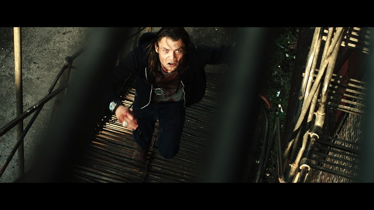 "Micah Fitzgerald as Chase in the Momentum Pictures' horror / thriller ""MOLLYWOOD"". Photo courtesy of Momentum Pictures."