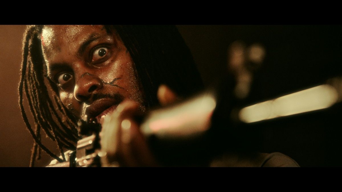 "Waka Flocka Flame as Bijou in the Momentum Pictures' horror / thriller ""MOLLYWOOD"". Photo courtesy of Momentum Pictures."