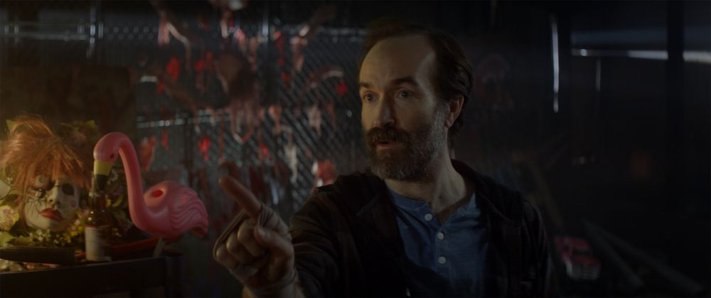 "Adam Brooks as Greg in the horror/action/comedy film, ""PG: PSYCHO GOREMAN,"" a RLJE Films/Shudder release. Photo courtesy of RLJE Films / Shudder."