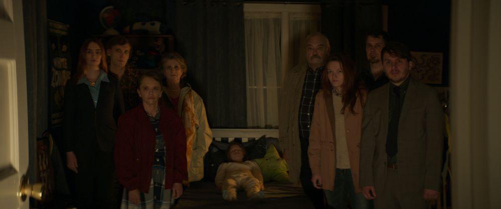 [Center] Luke David Blumm as David in the horror film SON, a RLJE Films/Shudder release. Photo courtesy of RLJE Films.