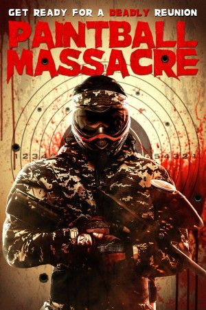 Paintball Massacre Poster Large